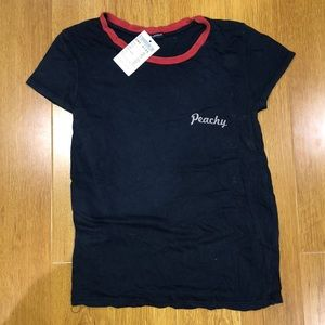 BNWT Brandy Peachy Tee